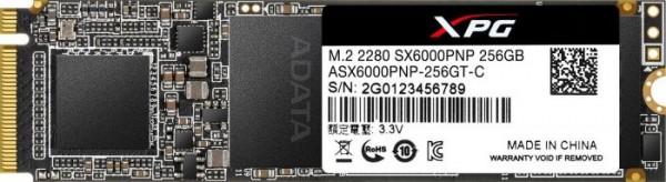 256GB ADATA XPG SX6000 Pro