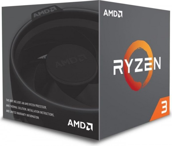 AMD Ryzen 3 1200, 4x 3.10GHz boxed