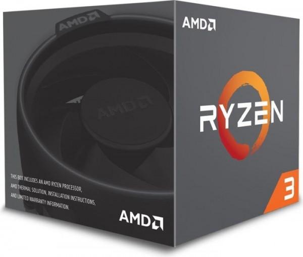 AMD Ryzen 3 1200, 4x 3.10GHz boxed