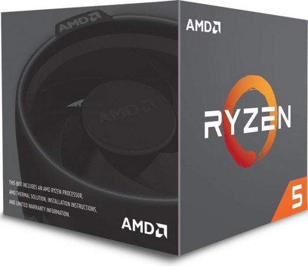 AMD Ryzen 5 1400, 4x 3.20GHz boxed