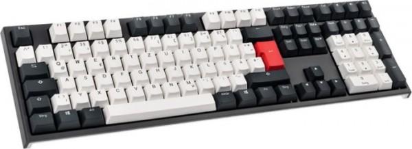 Ducky One 2 Tuxedo, MX SILENT RED (DKON1808-SDEPDZZBX)