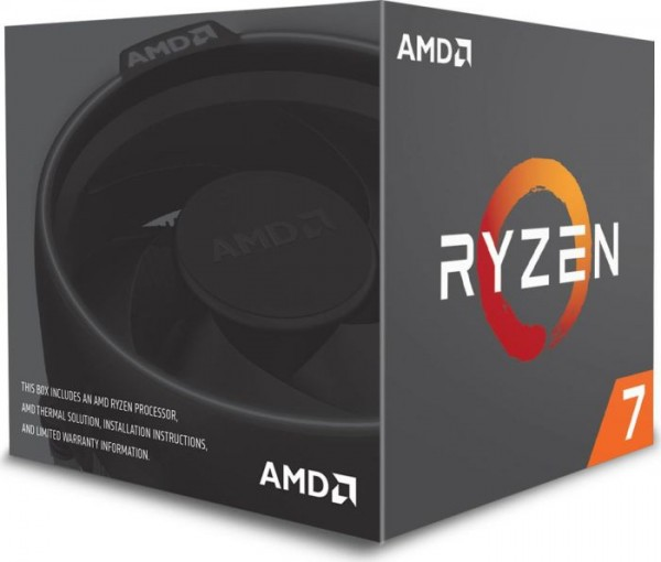 AMD Ryzen 7 2700, 8x 3.20GHz boxed