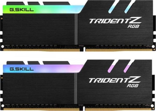 32GB G.Skill Trident Z RGB DIMM Kit, DDR4-3600, CL16-16-16-36