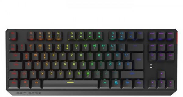SPC Gear GK630K Tournament, LEDs RGB, Kailh BLUE, USB, DE (SPG065)