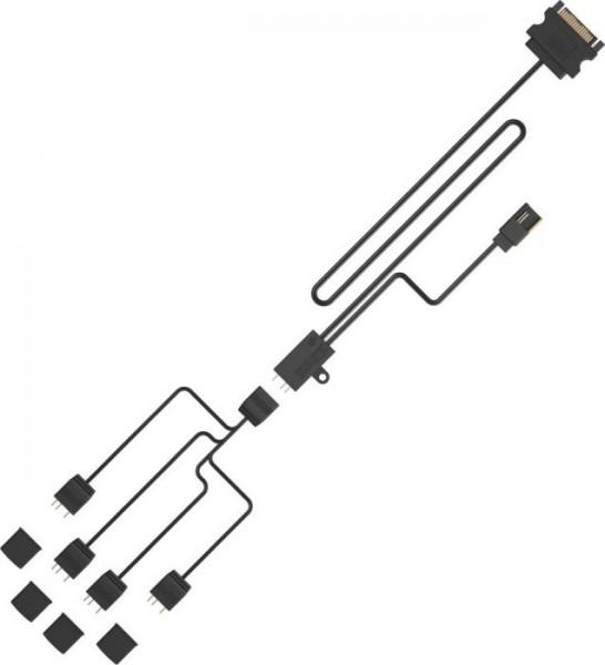 SilentiumPC Nano-Reset ARGB Kit, ARGB Controller SPC279