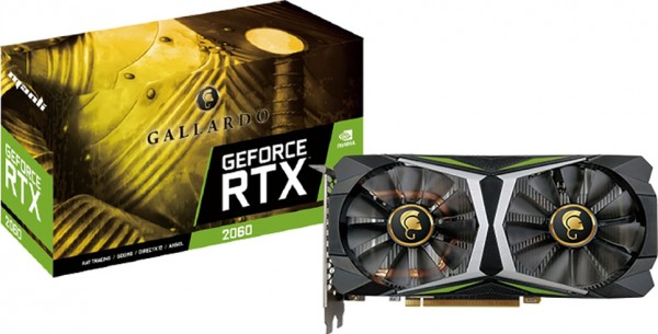 6GB Manli GeForce RTX 2060 Gallardo