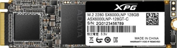 128GB ADATA XPG SX6000 Lite M2 PCI-e