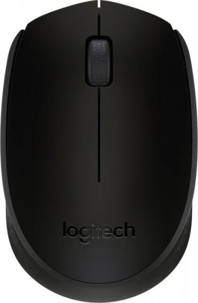 Logitech B170 Wireless Mouse schwarz, USB