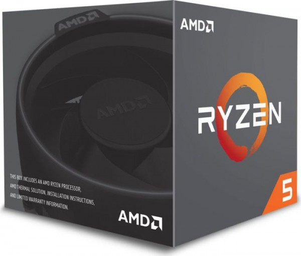 AMD Ryzen 5 2600, 6x 3.40GHz boxed