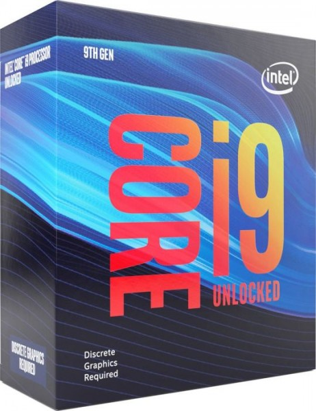Intel i9-9900KF, 8x 3,6Ghz boxed ohne Kühler