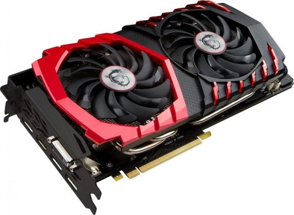 8GB MSI GeForce GTX 1080 Gaming X