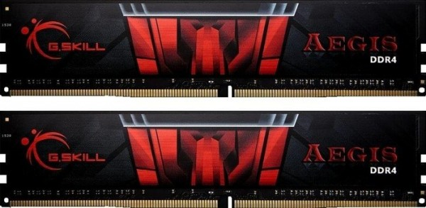 16GB DDR4-3000 CL16 G.Skill Aegis DIMM Kit