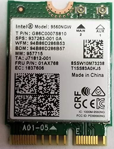 Intel DualBand Wireless-AC 9560 5Ghz