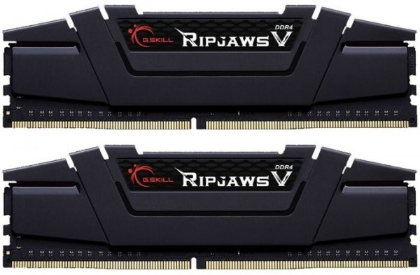 16GB DDR4-3200 CL16 G.Skill RipJaws V DIMM Kit (schwarz)