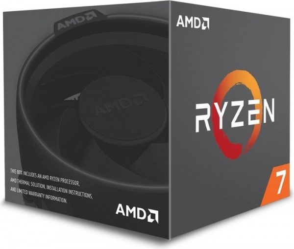 AMD Ryzen 7 1700, 8x 3.00GHz boxed