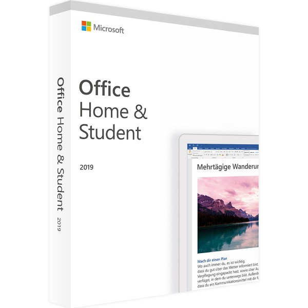 Microsoft Office 2019 Home & Student - Key Sofort via Mail