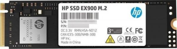 250GB HP SSD EX900 M2