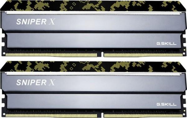 16GB DDR4-3600 CL19 G.Skill SniperX DIMM Kit (Urban Camouflage)
