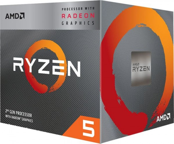 AMD Ryzen 5 3400G, 4x 3.70GHz, boxed
