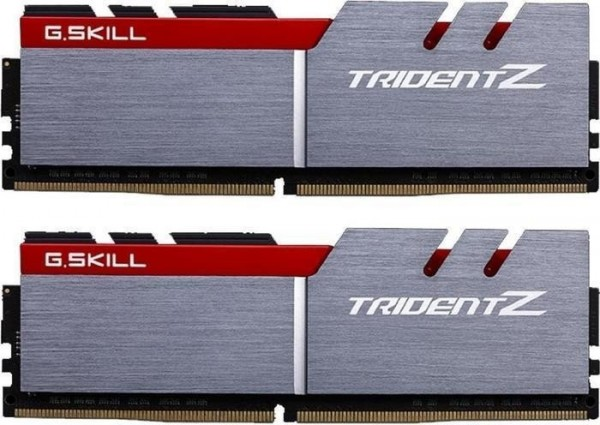 32GB G.Skill Trident Z silber/rot DIMM Kit DDR4-3600, CL17-19-19-39