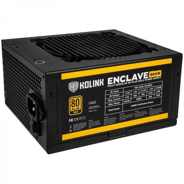 Kolink Enclave 600W 80+ Gold