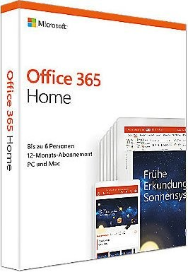 Office 365 Home - 1-Jahreslizenz (Box)