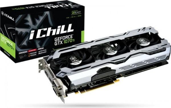 8GB Inno3D GeForce GTX 1070 Ti iCHILL X3 V2