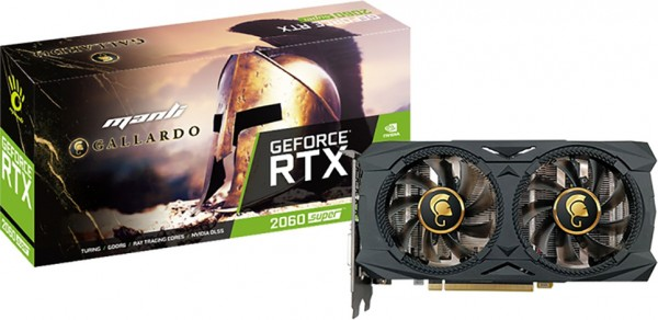8GB Manli GeForce RTX 2060 Super Gallardo