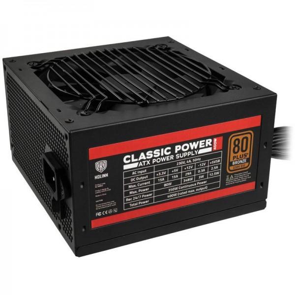 400W Kolink Classic Power 80+ Bronze