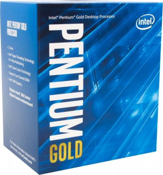 Intel Pentium Gold G5400, 2x 3.70GHz boxed