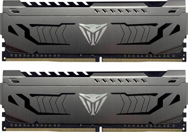 16GB Patriot Viper Steel DIMM Kit, DDR4-3600, CL17-19-19-39