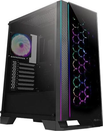 Antec NX600 schwarz mit Glasfenster